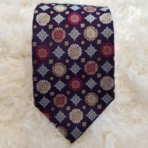 Hugo Boss Accessories - BOSS by Hugo Boss Purple Silk Tie
